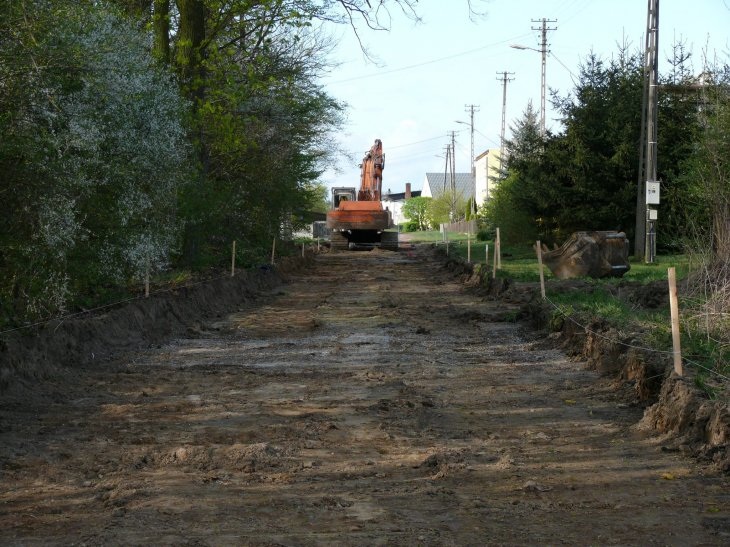 W Michałkowie ruszyła budowa drogi